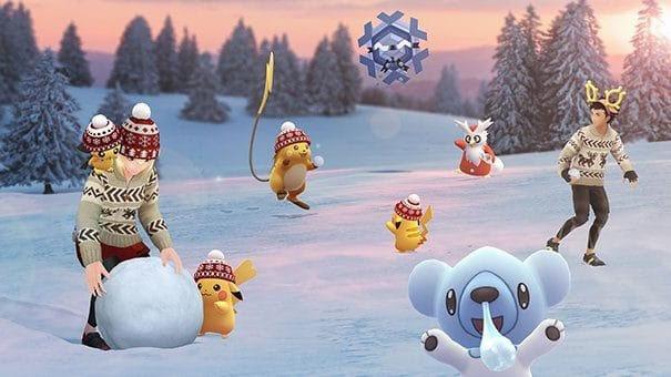 pokémon go event christmas details