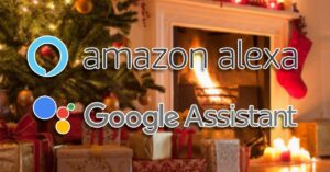 Christmas commands for Alexa and Google Assistant