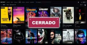 Closure of Movidy, web streaming to watch pirated movies and…