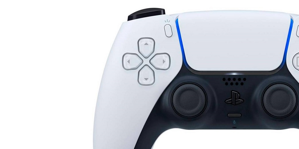 PS5 controller side