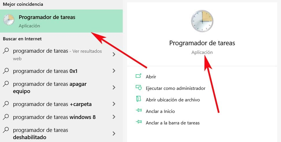 open task scheduler
