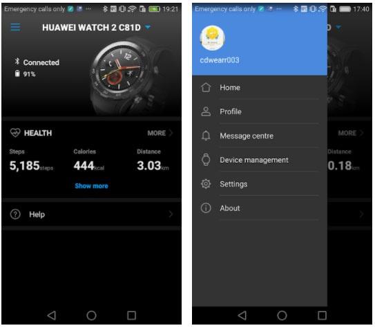huawei wear apps huawei watch gt