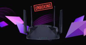 Unboxing this router with Wi-Fi 6