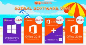 Windows 10 and Office deals on G2Deal: take advantage of…