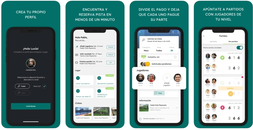 Playtomic App Store