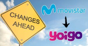 the OMV changes its coverage from Movistar to Yoigo
