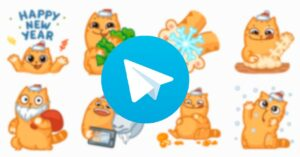 Best Christmas stickers to download on Telegram