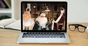 How to talk to the Three Wise Men by video…