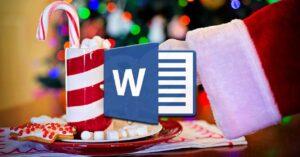 Create original Christmas greetings with Word