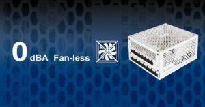 SilverStone NJ700, 700W 80 Plus Titanium fanless power supply