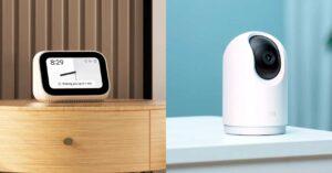 Mi Smart Clock and Mi 360 ° Home Security Camera…