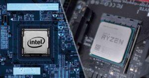 AMD Ryzen 9 5900X processor vs Intel Core i9-10900K in…