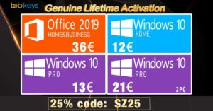 Cheap legal keys for Windows 10 Pro and Office 2019