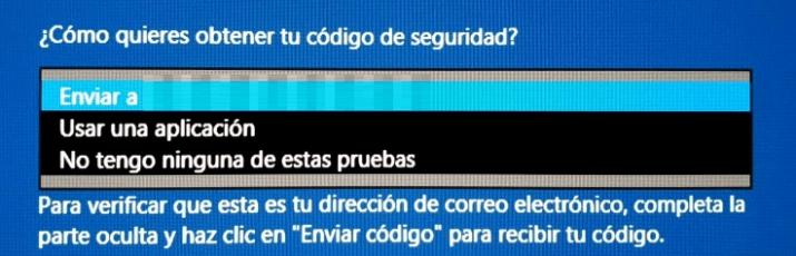 send code Windows 10