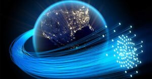 the fiber optics of the future created in space within…