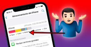 How much does iOS occupy on the iPhone and how…