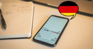 Applications to learn German from the iPhone