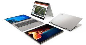 new ThinkPad X1 and X12 notebooks