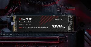 the new faster SSD at 7,500 MB / s