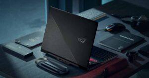 ASUS ROG Zephyrus Duo 15 SE, dual screen gaming laptop