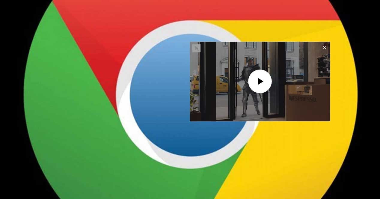 floating window in chrome