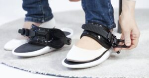Cybershoes, shoes to simulate that you walk through virtual worlds