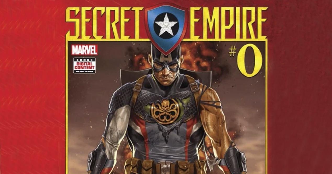 Captain America in Secret Emipire comics
