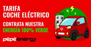 New Pepeenergy electric car rate for Pepephone customers