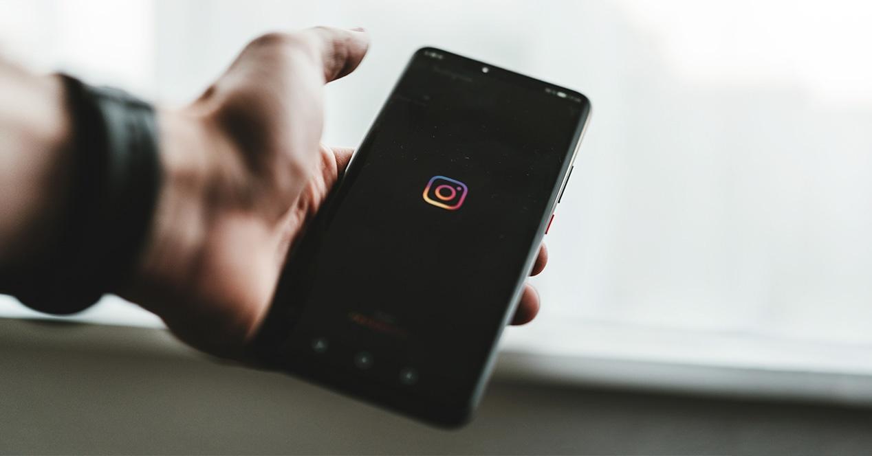 Instagram - Black Background
