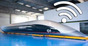 Internet on HyperloopTT, the transport of the future: gigabit WiFi…