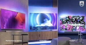 MiniLED and OLED TVs with Android 10