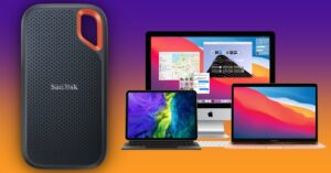 Offer on external SSD compatible with Mac and iPad