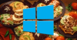Food backgrounds and themes to customize Windows 10