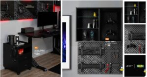 IKEA and Asus Rog launch gaming product line: table, mouse…