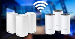 Which one is better for a WiFi Mesh router?