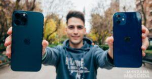 Photo comparison iPhone 12 Pro Max vs iPhone 12
