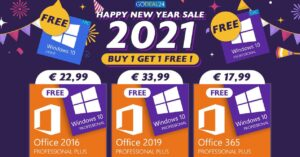 Best new year 2021 offers on Windows 10 and Office…