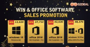 Christmas bargain for buying Windows 10 and Office licenses at…