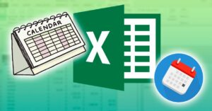 How to make a calendar with Excel templates and how…
