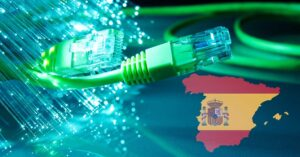 Movistar 2021 fiber optic coverage by type of population