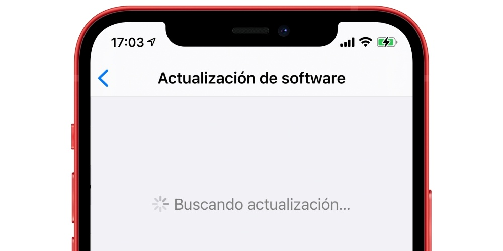 Looking for iOS update