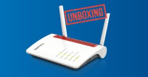 Unboxing 4G router with Gigabit ports and Mesh WiFi