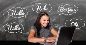 Websites to learn languages online for free and paid
