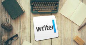 iA Writer, minimalist program to create and edit text