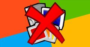 Uninstalled programs reappear when Windows restarts