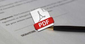 Add digital signature to PDF document