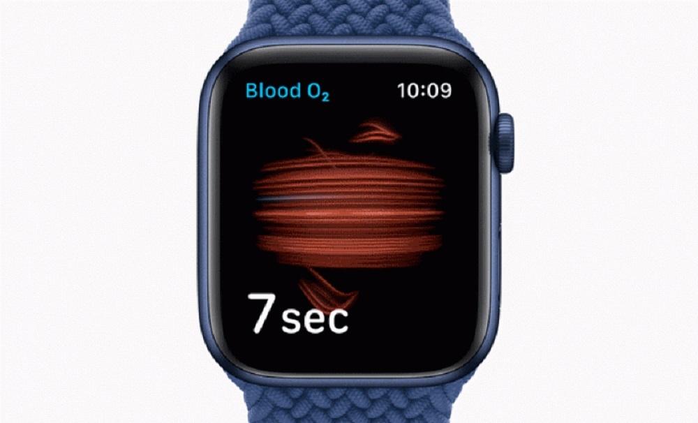 apple watch oxygen saturation