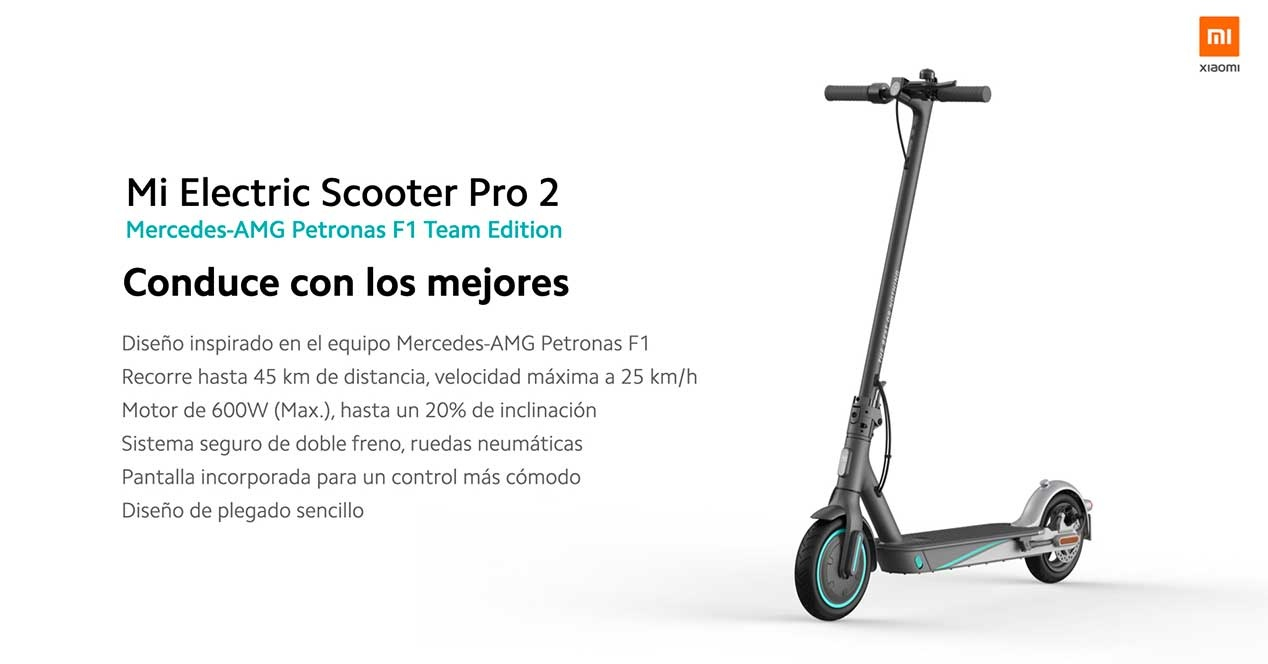 Scooter Xiaomi Scooter Pro 2 mercedes