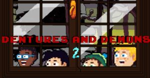 A graphic adventure of horror and black humor