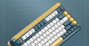 This Xiaomi keyboard is mechanical, customizable and in the eighties…